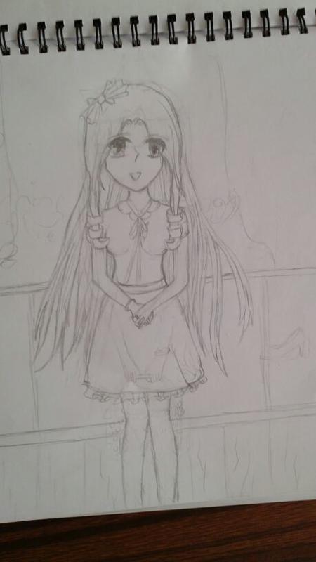 铅笔画 画法 樱花