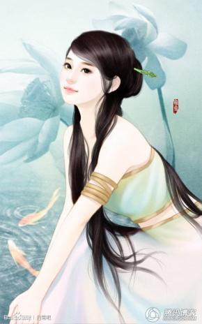 『浅涵』送古代女子丹青图啦!欢迎抱走