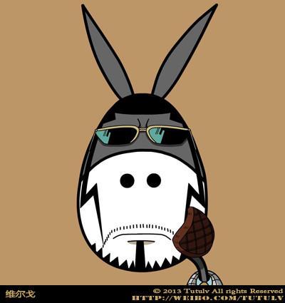 『炫晨』爆笑驴头像,说不出你就不是海贼迷_海贼王