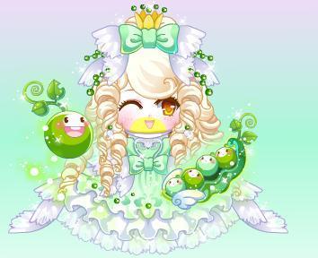 豌豆公主拟人画