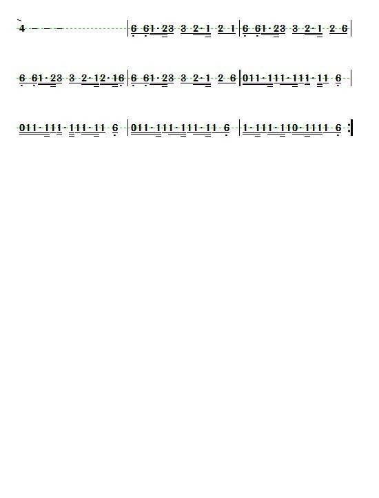 简谱,钢琴谱