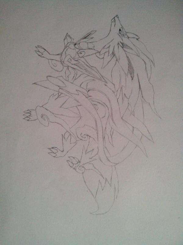 噬月武神2手绘