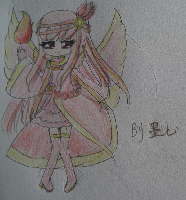 【墨心】手绘烈焰凤凰拟人