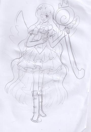 手绘奥雅形象(个人风格,不上色)