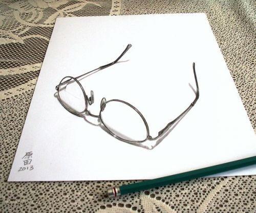 简单铅笔立体画入门 - 铅笔画简单3d立体画 - 简单3d