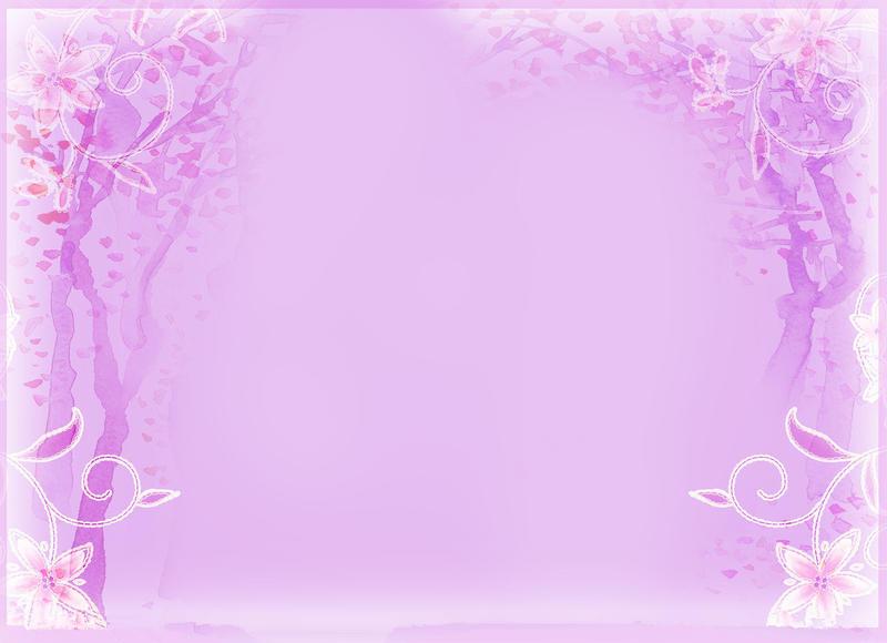 紫色小清新背景素材_小清新的背景素材