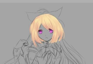 【苏音狐狸】板绘·是罗莎不是少女!