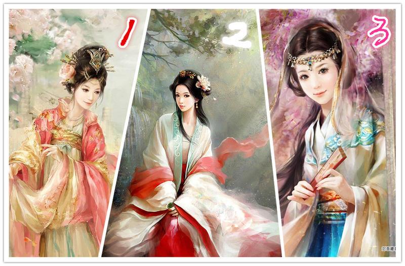 三大古装美女,你,更喜欢哪个呢?