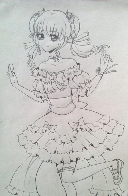 【狐狸】手绘古装美女~配古风句子!【转】