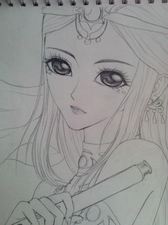 【金奈】【转】手绘古装美女图片