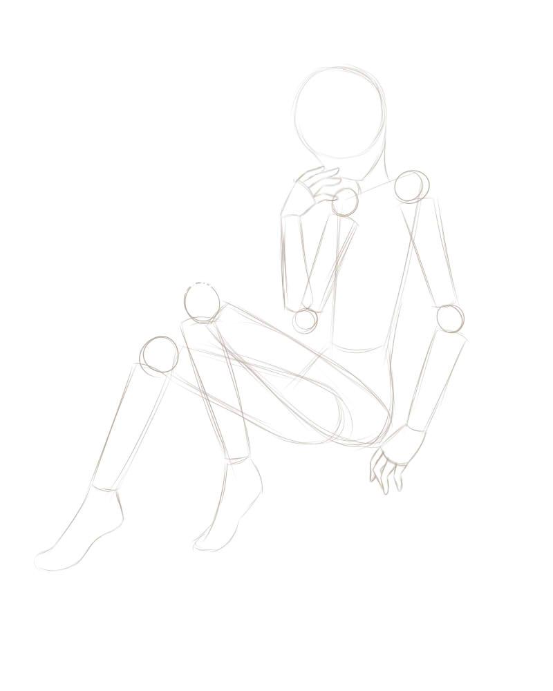 简单素描画图步骤
