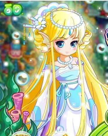 奥比岛最美女神人物
