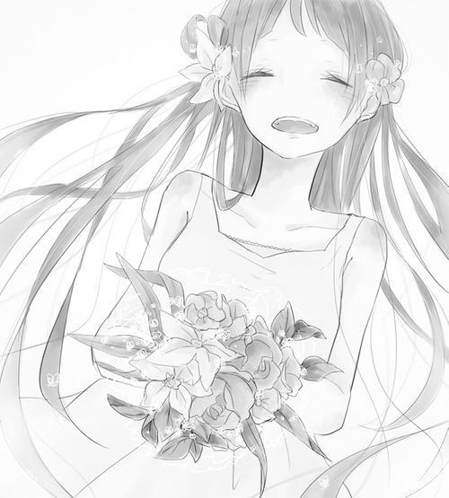 [安然]动漫黑白美图