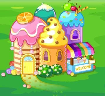 球球大作战里的糖果屋在哪里,魔法屋里找不到,好心人给我发个图片