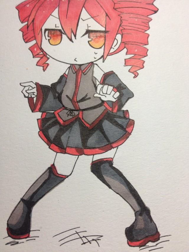 红色初音[ 初音未来 ]