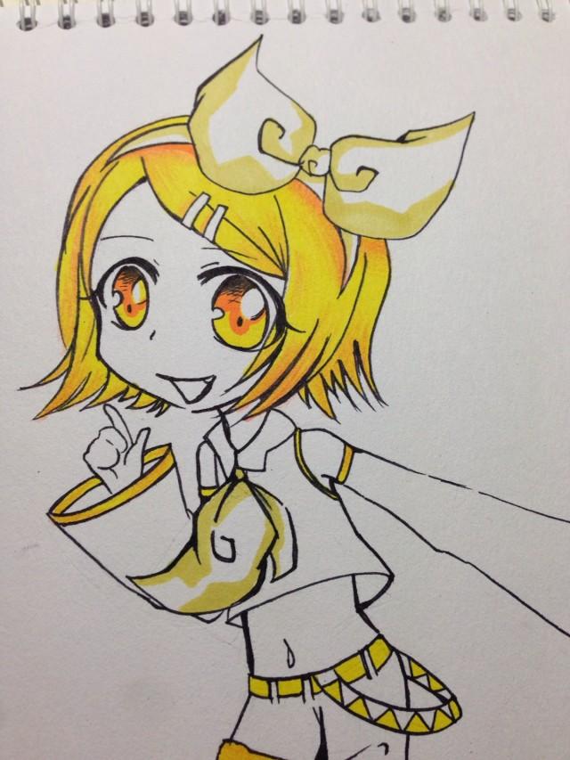 黄色初音[ 女汉子版初音未来
