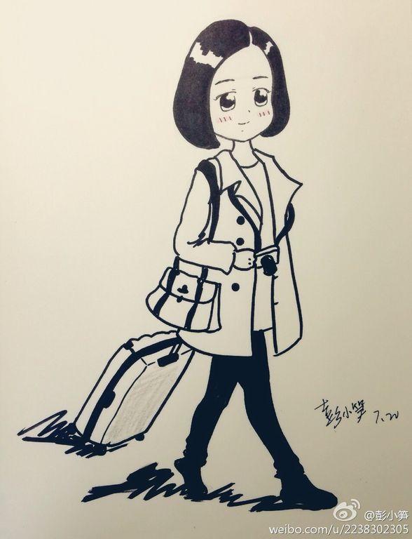 【宅宝-柠兮】诗宝q版手绘卡通图 =转吧=