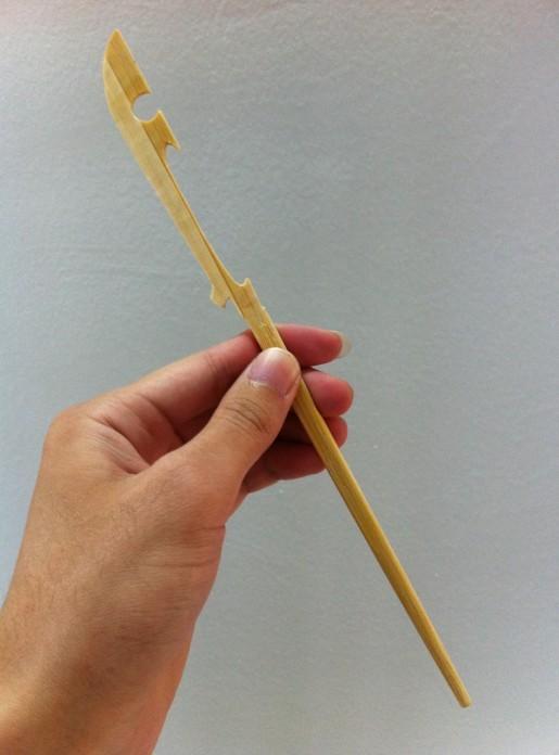 牙签手工制作大全 筷子