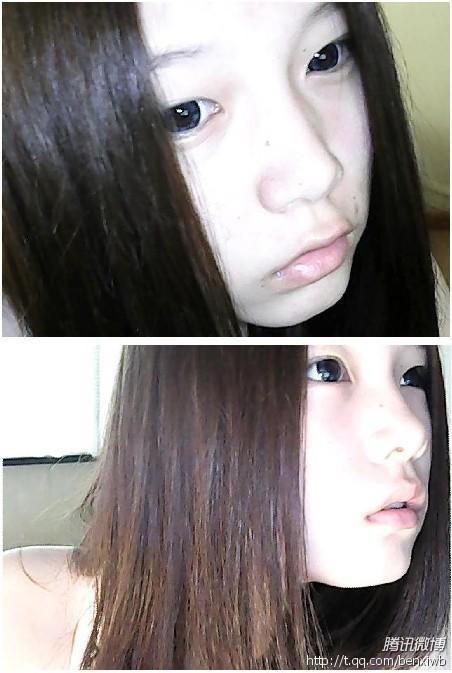 """【苏呓呓】么么兮爷素颜发型的""""进化""""过程直观"""