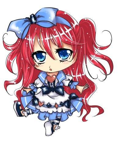 【伪过程】q版爱丽丝【红头发``】