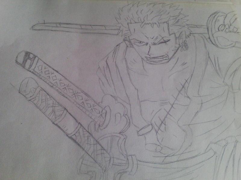 【政】手绘海贼王里的人物