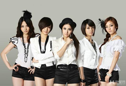 韩国女子组合排行有你家的么?