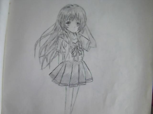 简笔画 手绘 素描 线稿 640_480