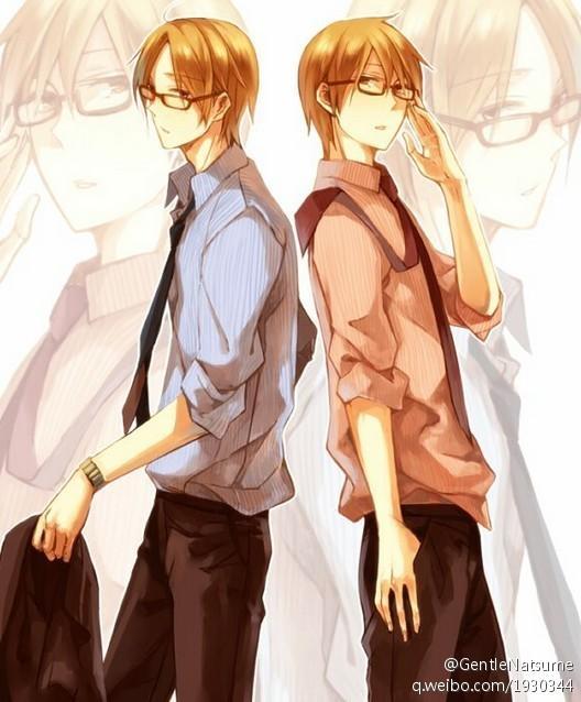 【汐奈】二次元帅气逼人的七大双胞胎兄弟