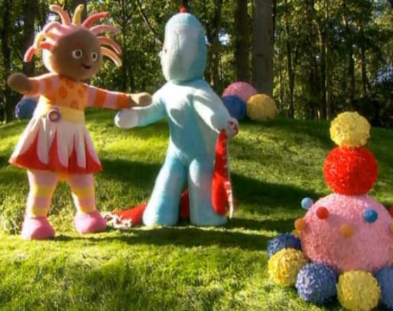 这里是一部逆天的动画片,叫做花园宝宝