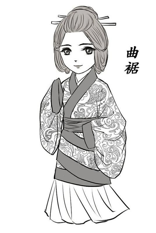 【陌】中国古代服装