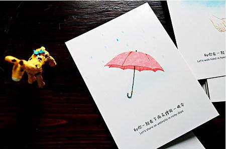 【baby茶】小清新丶明信片,你宣吗?