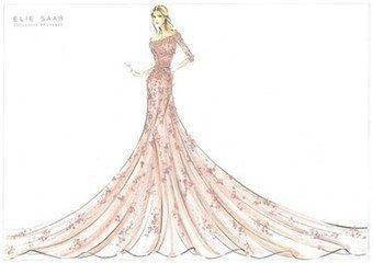 偶活|唯美手绘婚纱图,看看你中意哪件?