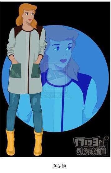 【闪光石】当迪士尼动画人物变成大学生时的样子