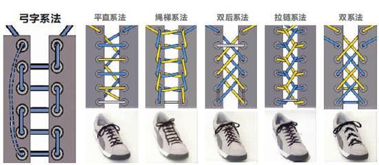 【拽拽】鞋带花样技法图片