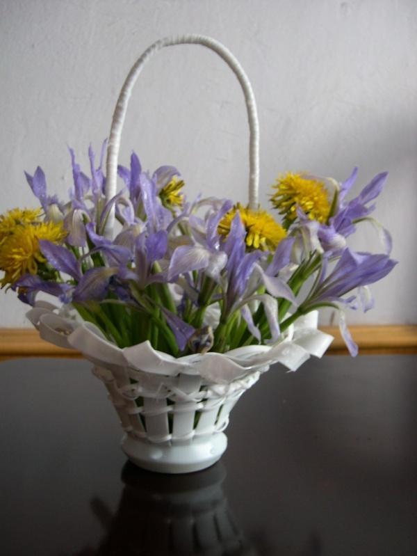 【大咪】酸奶瓶制作花篮,矿泉水瓶花瓶