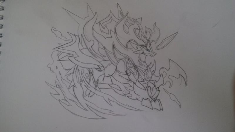 麒麟图案简笔画