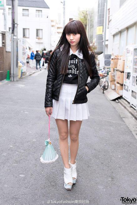 【洛颜】日本东京原宿街拍!