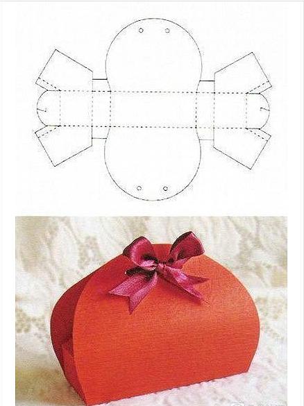 用纸做的盒子折纸包包步骤图解
