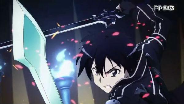 top 刀剑神域 桐人 有没有男主角用双刀的动漫-刀剑神域 双刀 刀剑神域
