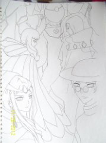 初级画画素描步骤
